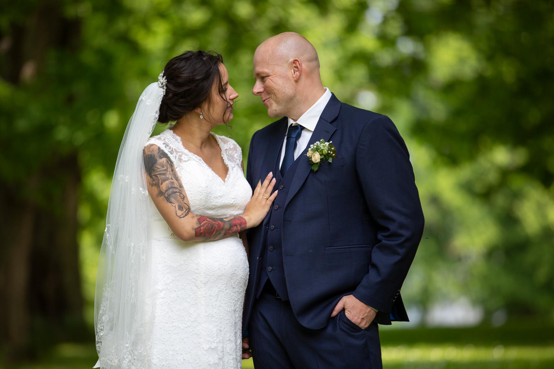 Bryllupsfotografering i Viborg - Bryllupsfotograf Mogens Balslev - 672670